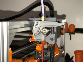 All New Spring Loaded Bowden Extruder