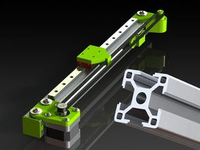 Linear motion guide 3030