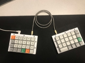 Levinson Keyboard or Let's Split Case and Top Plate