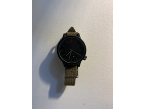 Invisible wristwatch wall mount