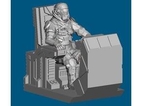 Dominion Crusader MK3 Cockpit (28mm)