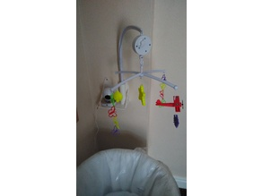 Baby Monitor Shelf & Mobile holder