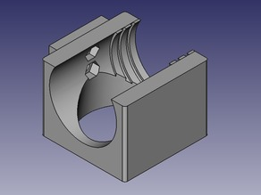 Hotend fan and layer fan for E3D type hotend
