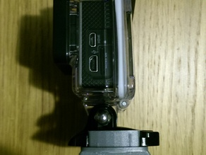 GoPro Mount for Quick Release Tripoid
