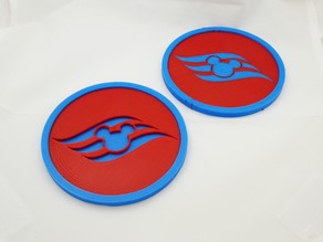 Cruising with the Mouse Coasters
