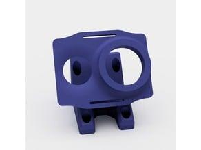 EpiQuad action cam mount (+ Xiaomi Yi plate)