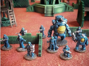 Dominion Strike Force (15mm scale)