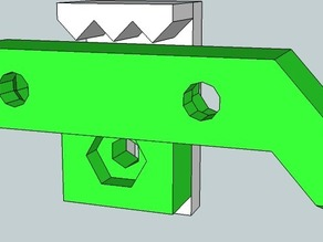 OpenX / Prusa belt clamp
