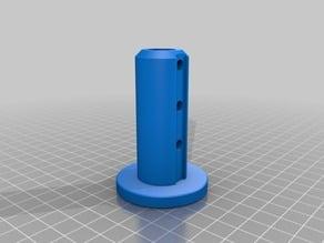 Pedestal Base Post Holder