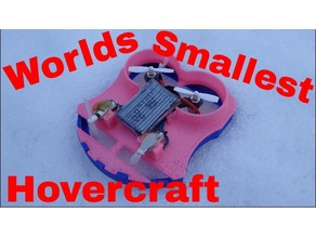 World smallest hovercraft