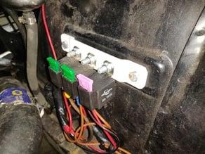 240z/260z Headlight upgrade relay holder bracket - 3 positions