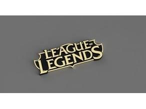 League of Legends dual print logo