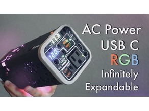 Ultimate 18650 Power Bank with Infinitely Expandable Capacity