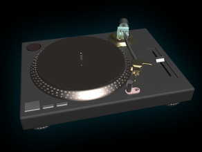 Technics 1210 DJ - Deck - feel the vibes