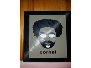 Cornel West Tribute Frame