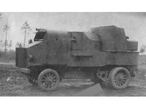 Garford armoured car