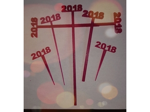 2018 Graduation Party Picks and Swizzle Sticks
