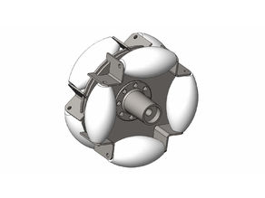 Omnidirectional Mecanum wheel