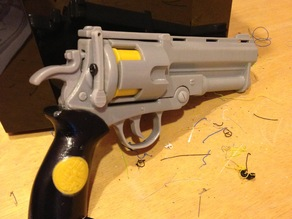 Remixed Hellboy revolver (Good Samaritan)