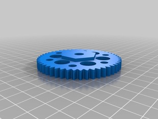 Ultimaker Stock Large feeder gear