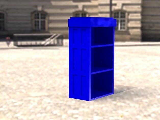 Tardis Bookcase STL By EvoGenius