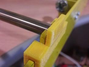 Holder shaft Prusa i3 steel
