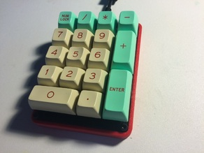 Number Pad Keyboard Case