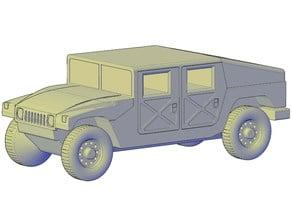 HMMWV Hummer H1 Military Slantback
