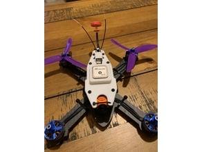 UAV Futures $99 v2 build, HSKRC TWE210 GPS & R-XSR Mount