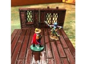 Tudor Wall with Window Lattice - OpenLOCK 7.5