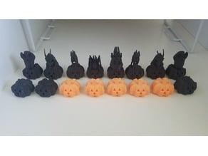 Halloween Chess Set