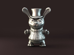 mad rabbit pendant  (LQ-version)