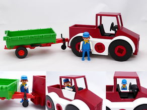 Toy Transporter (Playmobil compatible)