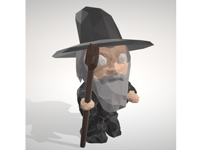 GANDALF LowpolyPOP - by Objoy Creation
