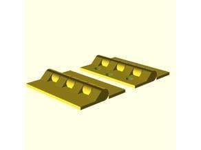 Parametric standard hinge