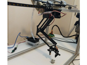 Horizontal Travel Robot Arm