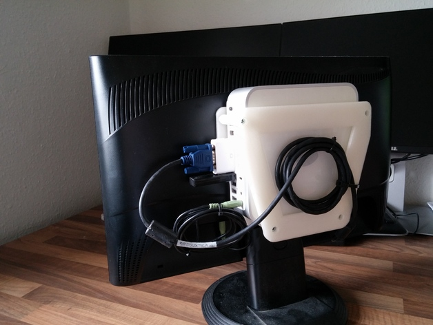 Mac Mini Vesa 100 Mount By Nic6911 Thingiverse