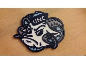 UNC Ram Logo - Four Color Print