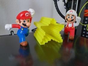 Super Mario Star Pixel Vase