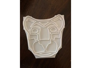 Penn State Nittany Lion cookie cutter