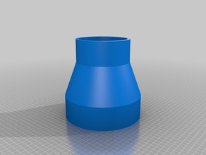 dust collector adapter 5inch od to 4inch od