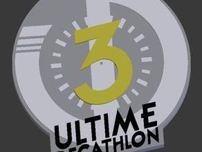 Ultimate Decathlon speedrun challenge logo