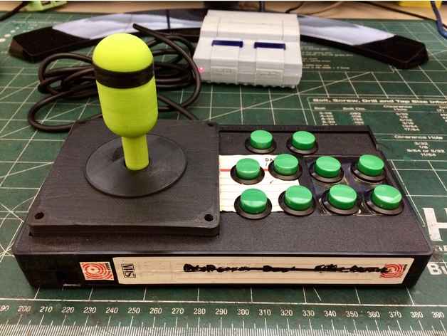 VHS Tape Arcade Controller by naldin - Thingiverse