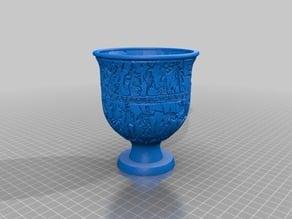 Roman Vase Lithophane
