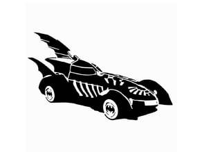 BF Batmobile stencil