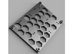 MKS SBase 1.3 to RAMPS mounting adapter