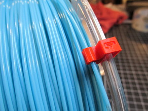 filament clip for eSun filament rolls, (also works with Gizmo Dorks filament rolls)