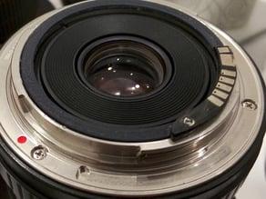Samyang 14mm 2.8 EOS Canon lens ring for EMF AF Confirm Chip