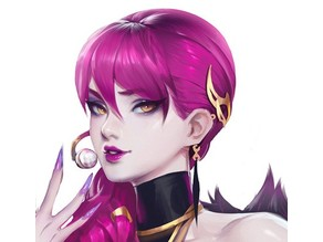 K/DA Evelynn's Earrings