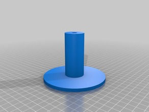 Filament holder for 3 and 5cm spool